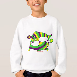 Cartoon Lifesaver Dolphins Sweatshirt