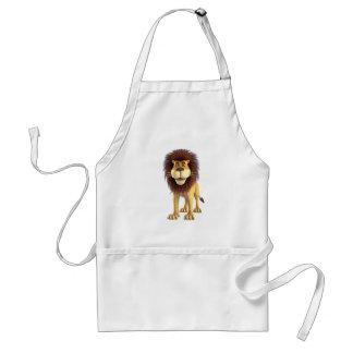Cartoon Lion Aprons