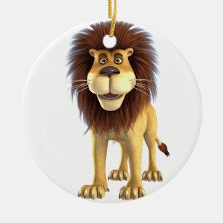 Cartoon Lion Ceramic Ornament