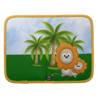 Cartoon Lion Wildlife Folio Smartphone Folio Planner