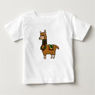 Cartoon Llama Baby T-Shirt