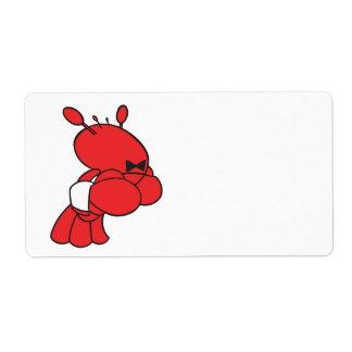 cartoon lobster waiter