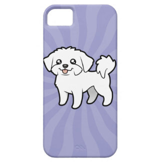 Cartoon Maltese (puppy cut) Case For The iPhone 5
