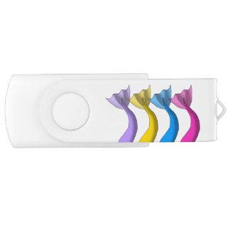 Cartoon Mermaid Tails 1 USB Flash Drive