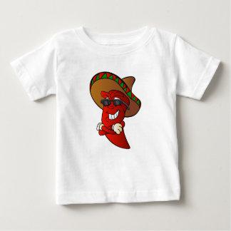 cartoon mexican pepper. baby T-Shirt