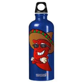 cartoon mexican pepper. SIGG traveller 0.6L water bottle