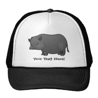 Cartoon Miniature Pig Cap