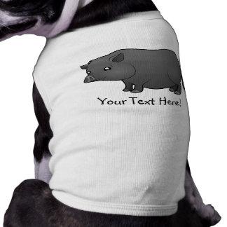 Cartoon Miniature Pig Shirt