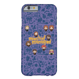 "Cartoon ""Mischief Managed"" Graphic Barely There iPhone 6 Case"