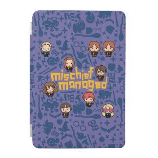 """Cartoon """"Mischief Managed"""" Graphic iPad Mini Cover"""