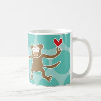 Cartoon Monkey Kid Cute Fun Custom Gift Mug
