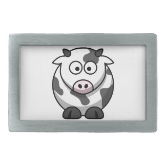 cartoon Moo Cow Belt Buckles