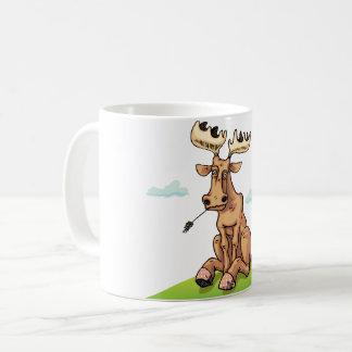 Cartoon Moose Mug