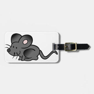 Cartoon Mouse Luggage Tags
