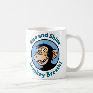 Cartoon Mug: Monkey Breath Coffee Mug