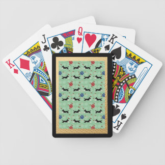 Cartoon Mutts Bicycle Playing Cards