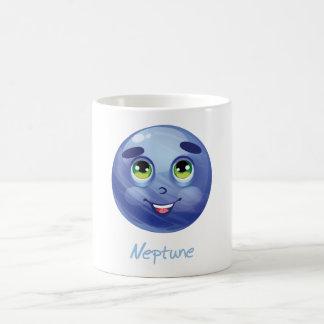 Cartoon Neptune Coffee Mug