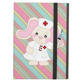 Cartoon Nurse Bunny iPad Air Powis case