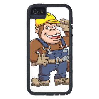 Cartoon of a Gorilla Handyman Cover For iPhone 5