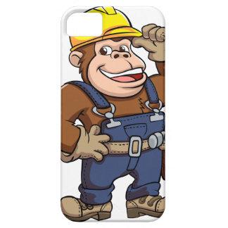 Cartoon of a Gorilla Handyman iPhone 5 Covers