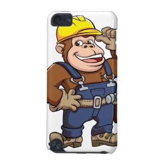 Cartoon of a Gorilla Handyman iPod Touch 5G Covers