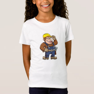 Cartoon of a Gorilla Handyman T-Shirt