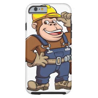 Cartoon of a Gorilla Handyman Tough iPhone 6 Case