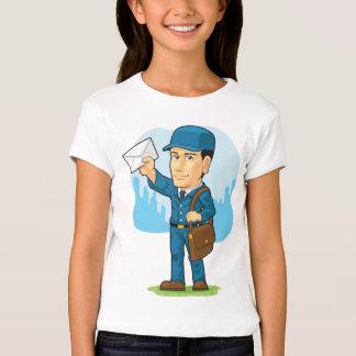 Cartoon of Postman or Mailman T-Shirt