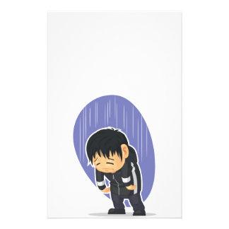 Cartoon of Sad Boy Flyer