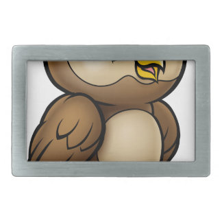 Cartoon Owl Character Belt Buckle
