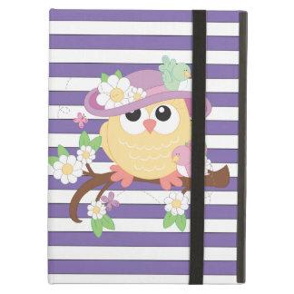 Cartoon owl iPad Air Powis case