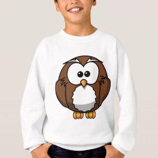 Cartoon Owl Sweatshirt
