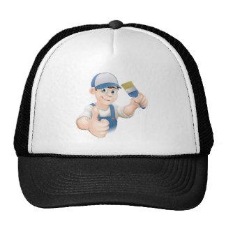 Cartoon painter decorator hats