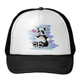 Cartoon Panda Bear Stuffed Animal Cap