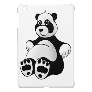 Cartoon Panda Bear Stuffed Animal iPad Mini Cover