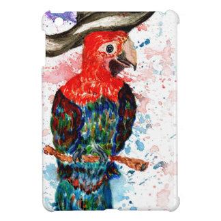 Cartoon Parrot Art01 iPad Mini Cases