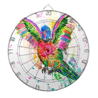Cartoon Parrot Art03 Dartboard