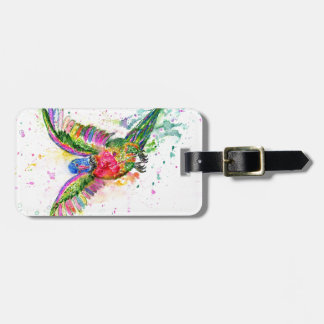 Cartoon Parrot Art03 Luggage Tag
