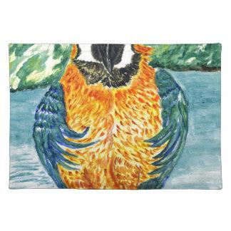 Cartoon Parrot Art2 Placemat