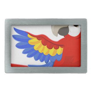 Cartoon Parrot Character Belt Buckles