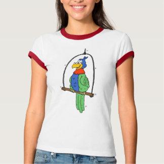 Cartoon Parrot T-Shirt