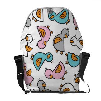 Cartoon Pastels Duckies Ducks Whimsical Cute Bag Courier Bag