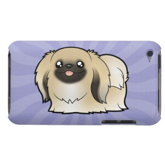 Cartoon Pekeingese (show cut) Case-Mate iPod Touch Case