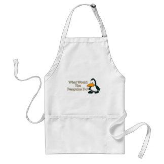 Cartoon Penguin Standard Apron