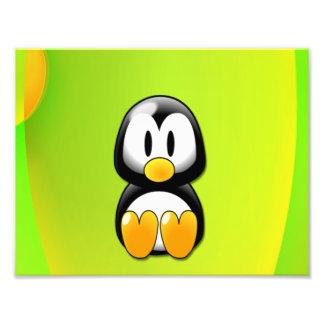 Cartoon Penguin Photo Art