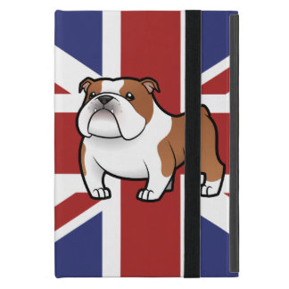 Cartoon Pet with Flag Case For iPad Mini