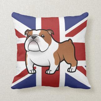 Cartoon Pet with Flag Cushion