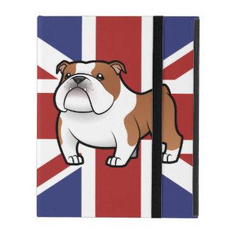 Cartoon Pet with Flag iPad Cover