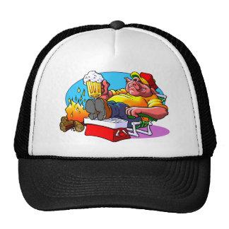 Cartoon Pig Roast Cap