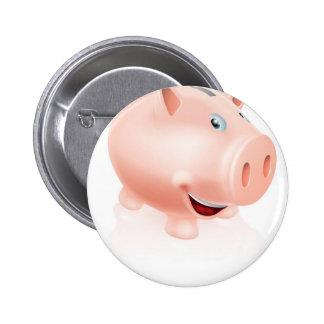 Cartoon Piggy Bank Pins